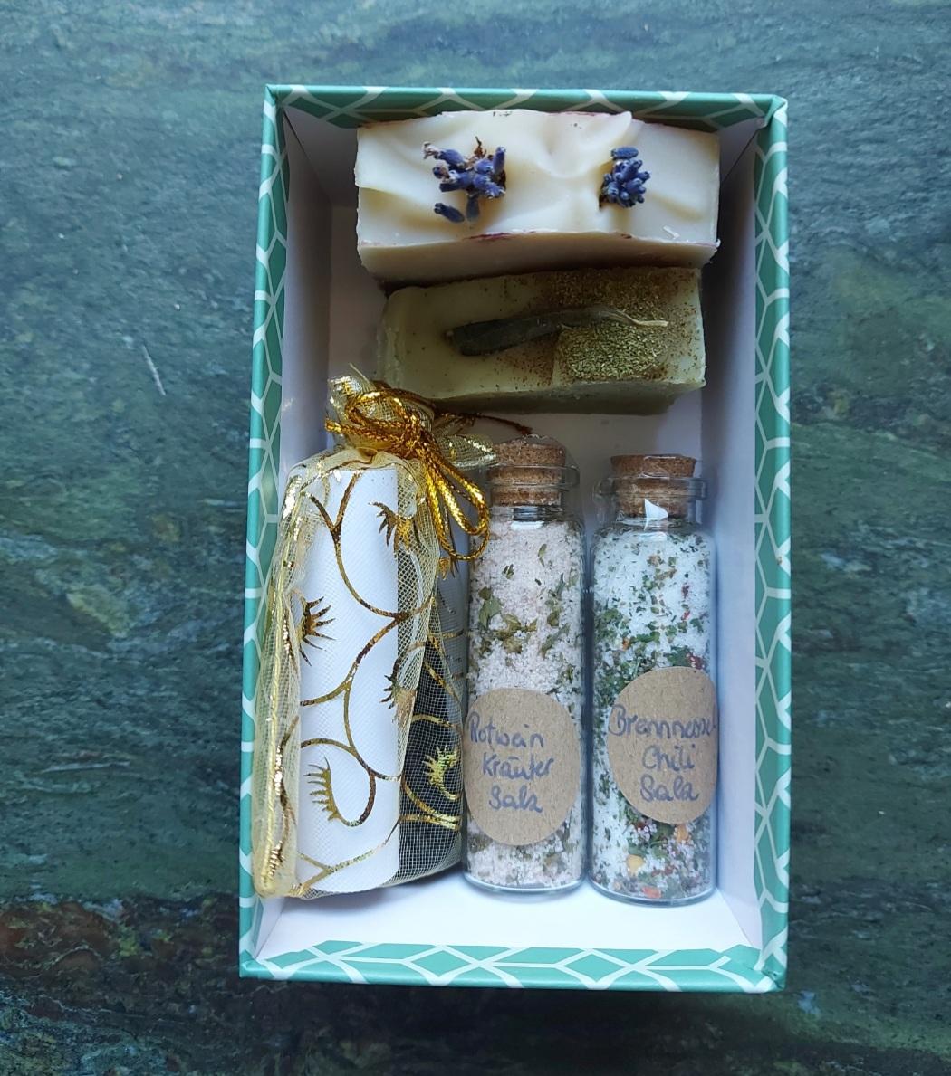 Geschenksbox Salz
